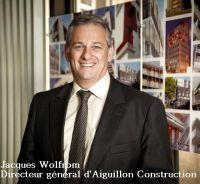 jacques Wolfrom, Directeur général d'Aiguillon Construction