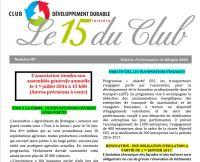 Le 15 du Club n° 83