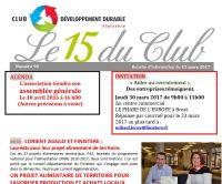 Bulletin 15 du Club N° 90
